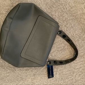 French Connection grey leather purse!